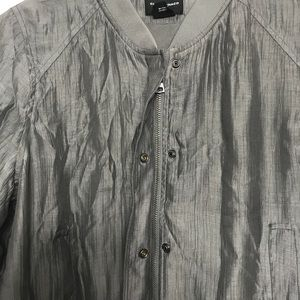 86cf0a0f5 Club Monaco jonie bomber jacket gray lightweight